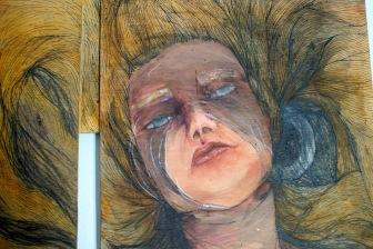 """Lady Death"" (Detail), 2011"